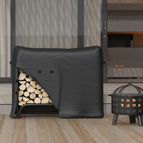 Water Resistant Firewood Log Rack Cover by Freeport Park