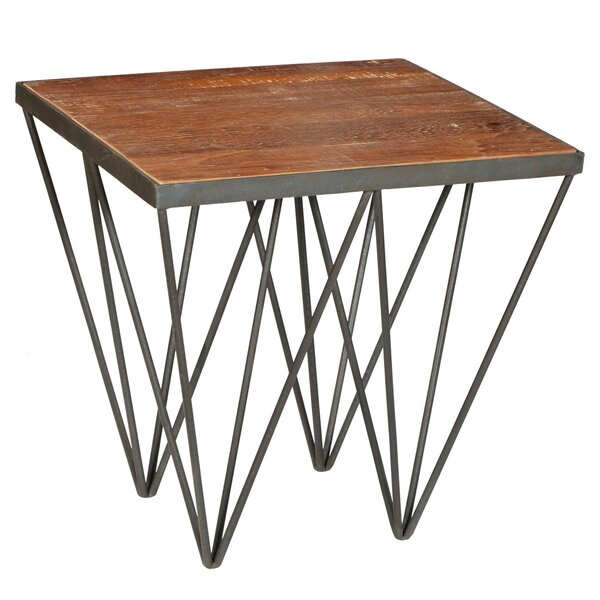 Kaden End Table by 17 Stories