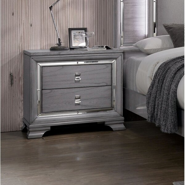Orrwell 2 Drawer Nightstand by Everly Quinn
