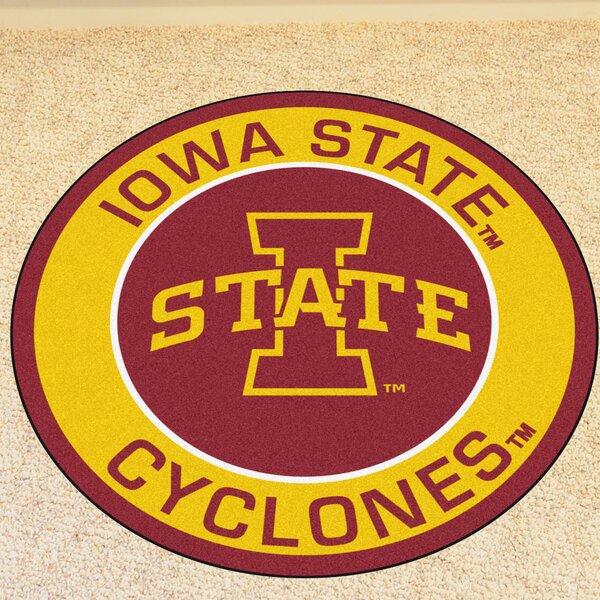 NCAA Iowa State University Roundel Mat by FANMATS