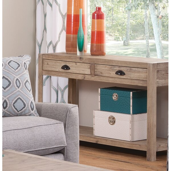 Herrington Modern Console Table By Rosecliff Heights
