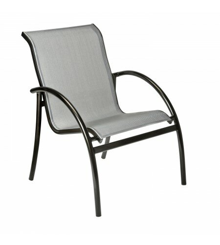 Tribeca Stacking Patio Dining Chair by Woodard