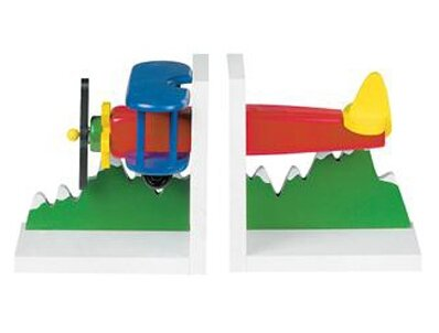 Airplane Bookends by Harriet Bee