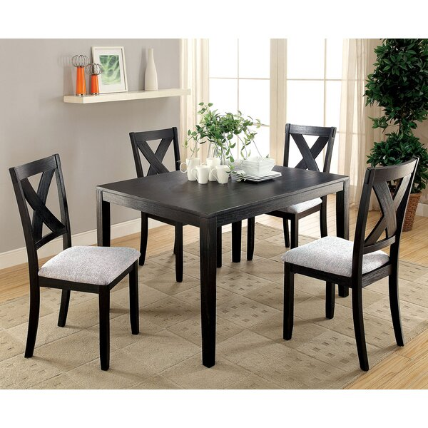 Skiljo 5 Piece Dining Table Set by Red Barrel Studio