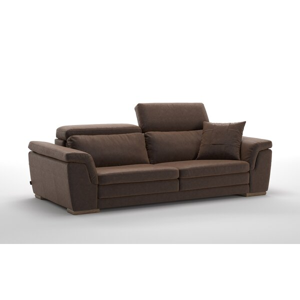 Review Crittenden Leather Sofa