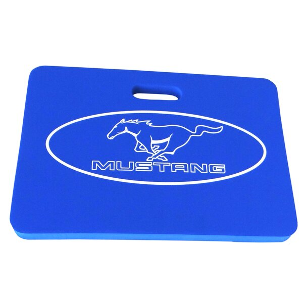 Mustang Kneeling Doormat by Go Boxes LLC