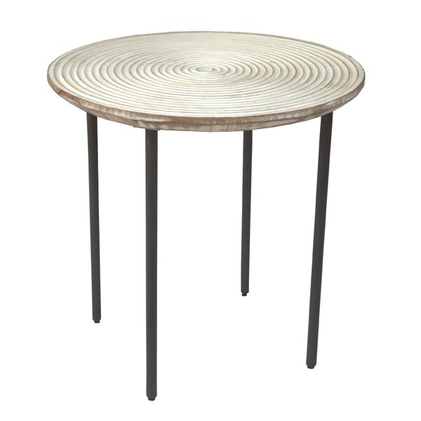 Khan End Table By Bloomsbury Market
