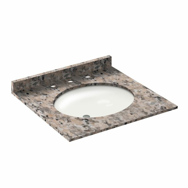Vanity Top with Back Splash by LessCare