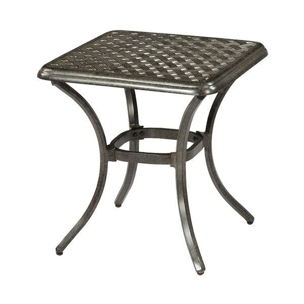 Pinheiro Aluminum Side Table by Canora Grey