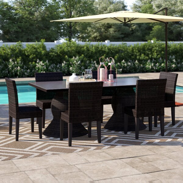 Stratford 7 Piece Dining Set by Sol 72 Outdoor