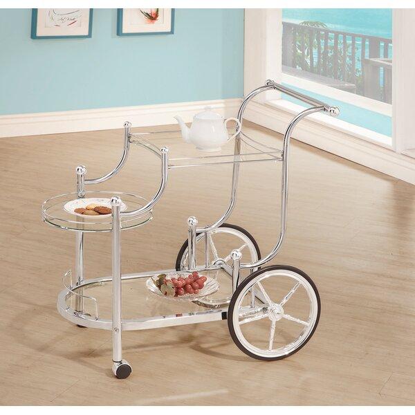 Maplecrest 3-Tier Serving Bar Cart by Orren Ellis Orren Ellis
