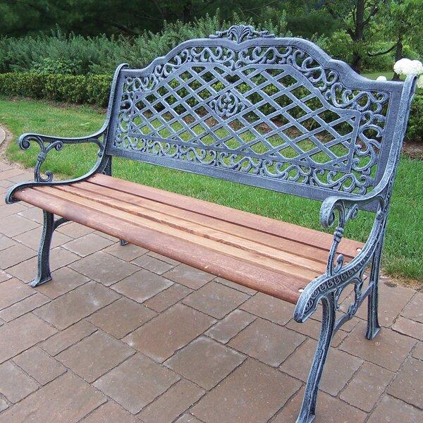 Mcgrady Aluminum Garden Bench by Astoria Grand