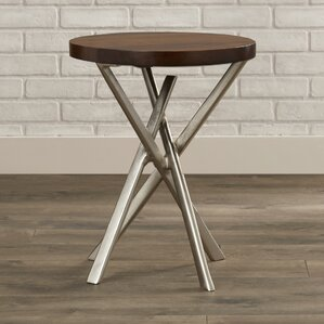Jadira End Table by 17 Stories
