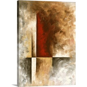 'Burnished' by Megan Duncanson Painting Print on Wrapped Canvas by Great Big Canvas