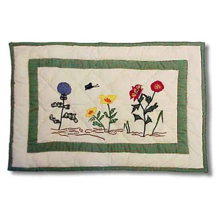 Thor Wildflower Placemat (Set of 4) by August Grove