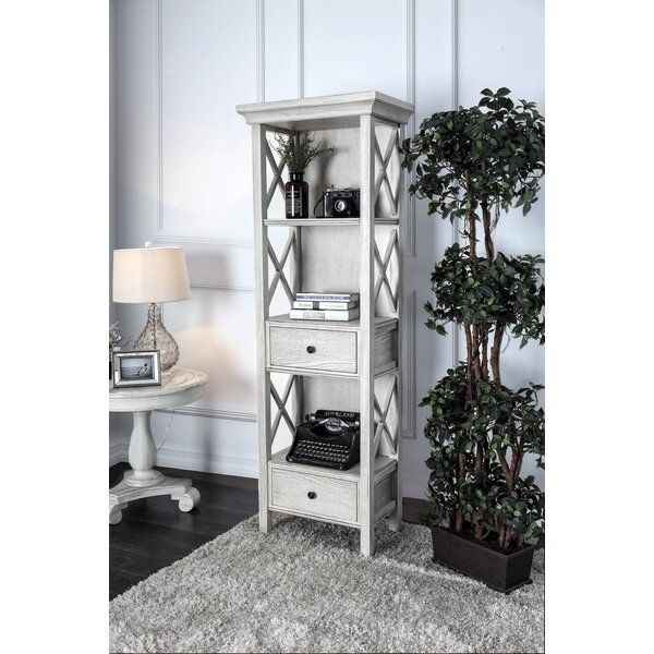 Dykstra Pier Standard Bookcase by Rosecliff Heights