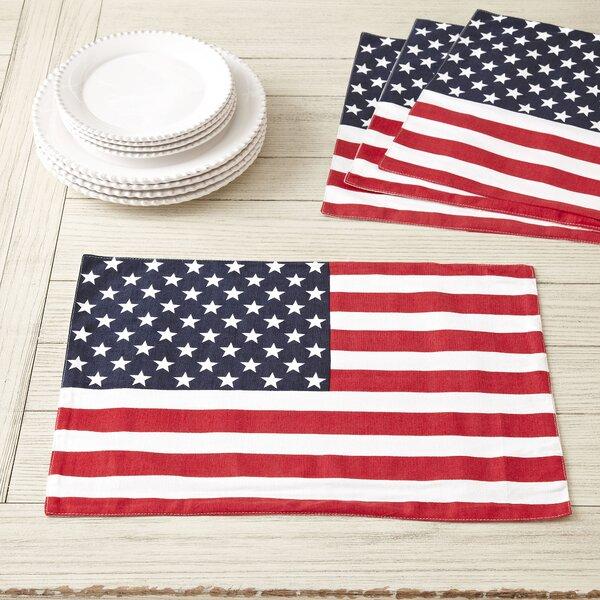 Washington Placemats (Set of 4) by Birch Lane™