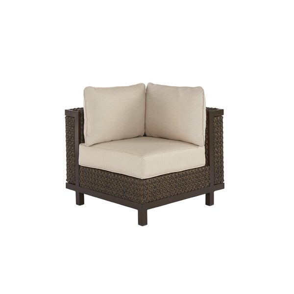Asphodèle Corner chair with Cushions by Gracie Oaks