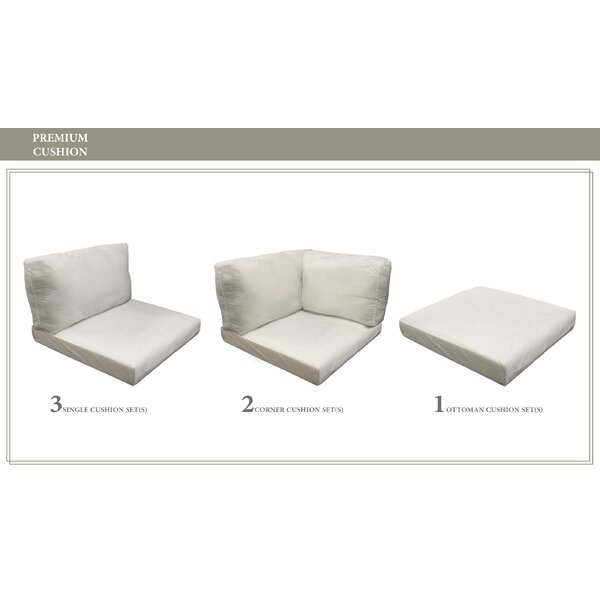 Monterey Outdoor 13 Piece Lounge Chair Cushion Set by TK Classics