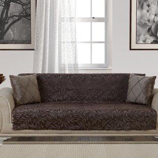 Acacia Anti-Slip Pet Furniture Protector Box T-Cushion Sofa Slipcover