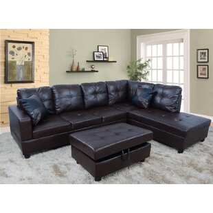 Faunce Sectional with Ottoman