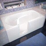 Ashton 60 x 30 Walk-In Bathtub byTherapeutic Tubs