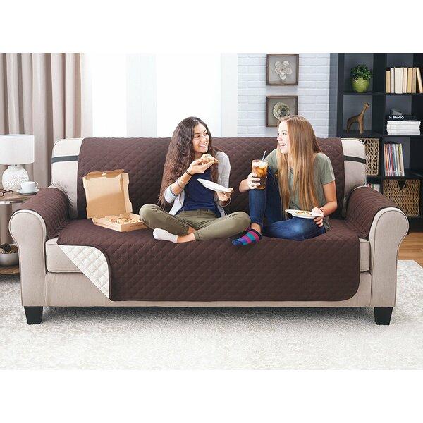 Reversible Sofa Slipcover By Winston Porter.