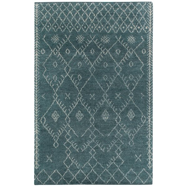 Fortress Blue Diamond Area Rug by Capel Rugs