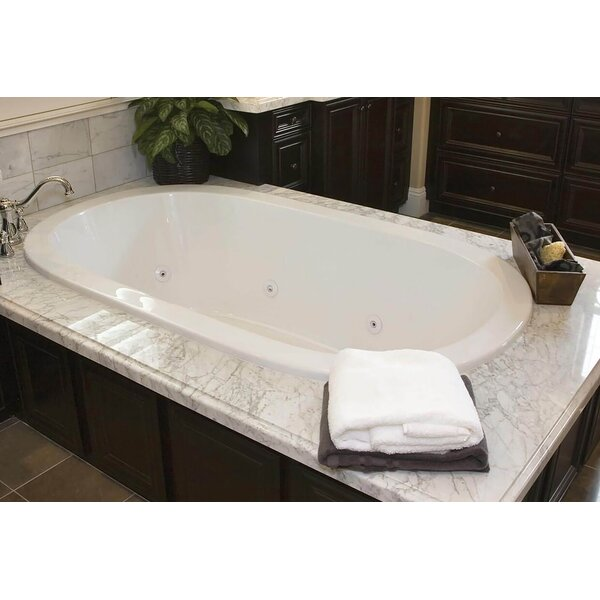 Designer Lorraine 74 x 44 Air Tub by Hydro Systems