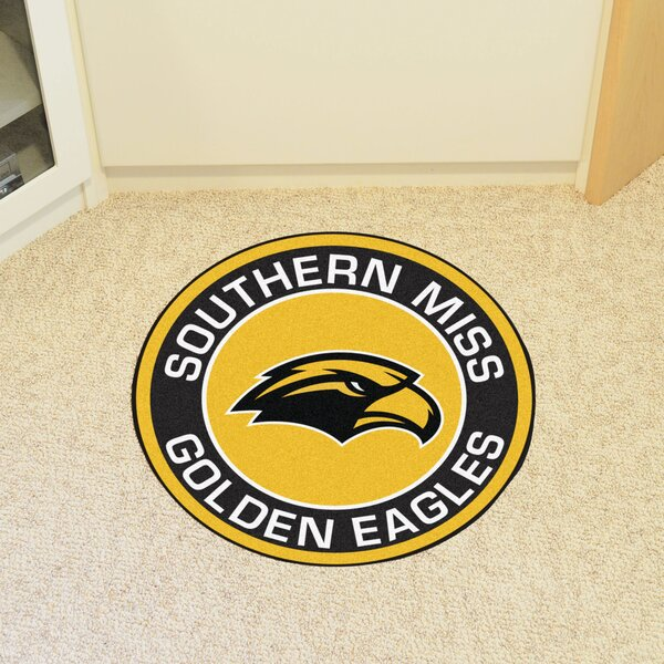 NCAA University of Southern Mississippi Roundel Mat by FANMATS