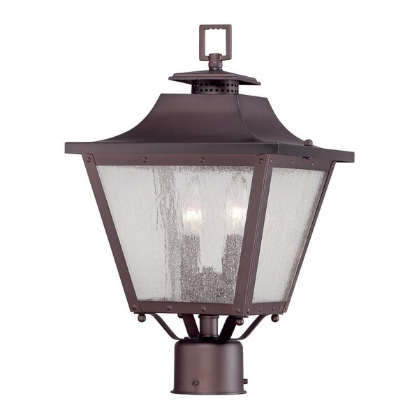 Berryman Outdoor 2-Light Lantern Head by Fleur De Lis Living