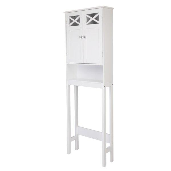 Botelho 24.8 W x 68.11 H x 7.87 D Over-the-Toilet Storage