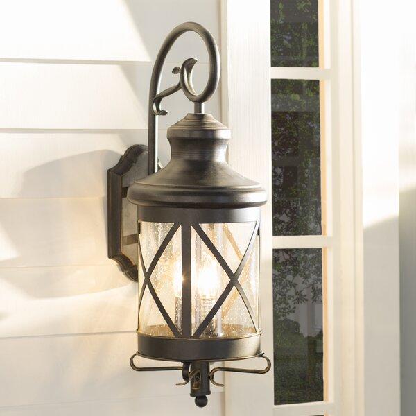 Fairbury Outdoor Wall Lantern by Three Posts