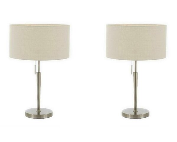 Lombardo 22 Table Lamp (Set of 2) by Ebern Designs