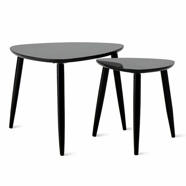 Grinnell Modern 2 Piece Coffee Table Set by Corrigan Studio Corrigan Studio