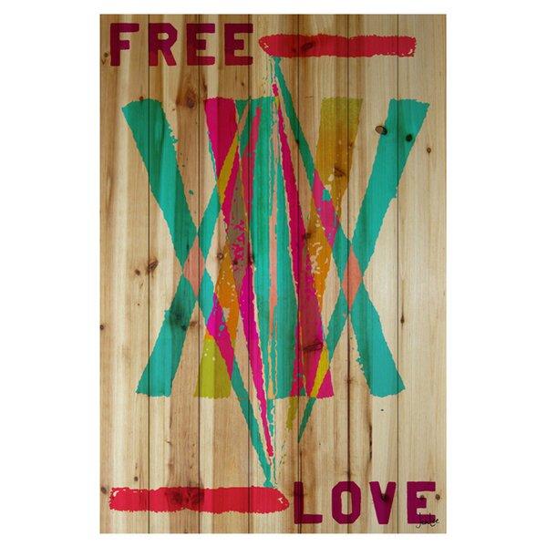 Jen Lee Free Love Textual Art by Parvez Taj