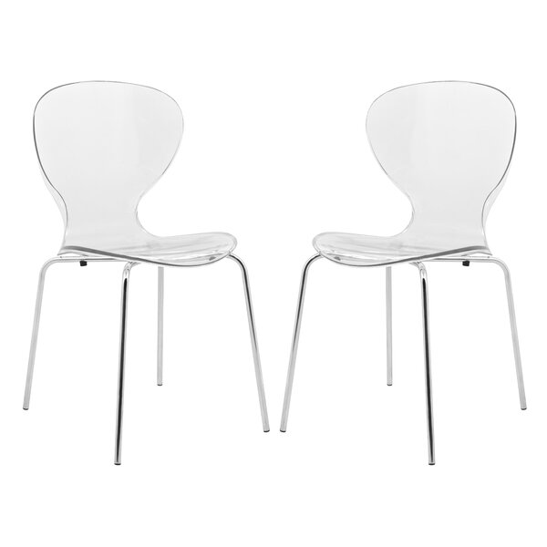 Oyster Dining Chair (Set of 2) by LeisureMod