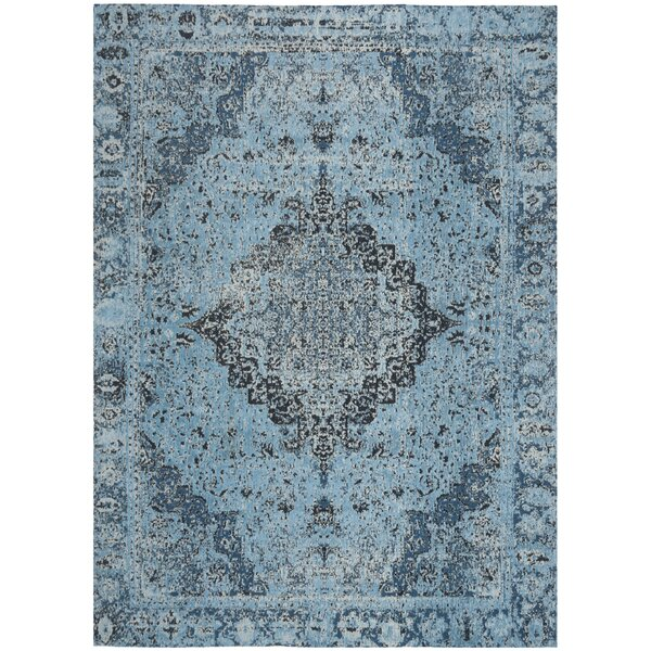 Chenault Blue Area Rug by Bungalow Rose