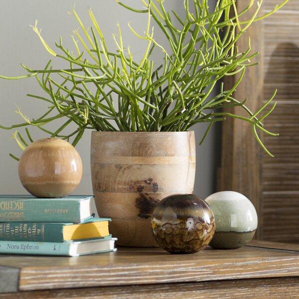 3 Piece Decorative Ceramic Orbs Set by Loon Peak