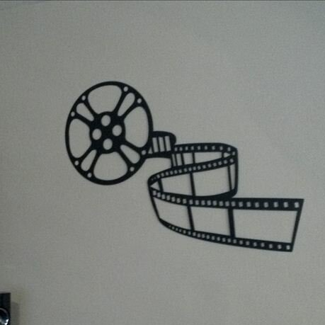 Movie Reel and Film Home Theater Metal Wall Décor by Red Barrel Studio