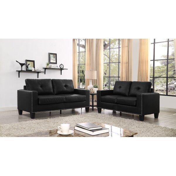 Yaretzi 2 Piece Living Room Set by Winston Porter