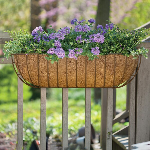 Steel Rail Planter by Panacea Products