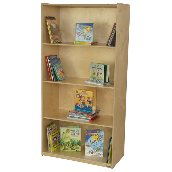 Multi-Purpose 4 Compartment Book Display by Wood Designs