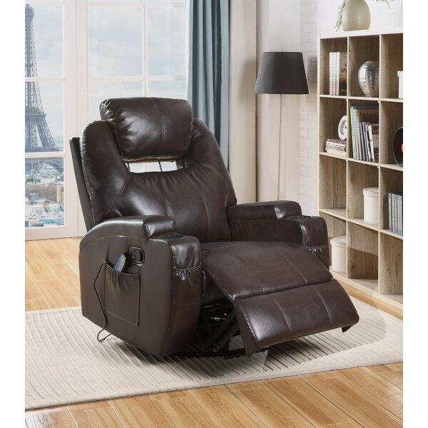 Runkle Rocker Reclining Massage Chair Red Barrel Studio W000735878