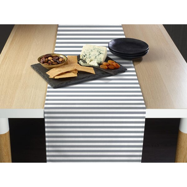 Arda Small Stripes Milliken Signature Table Runner by Gracie Oaks