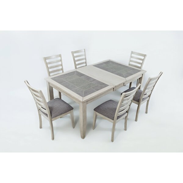 Leigh 7 Piece Dining Set by Red Barrel Studio