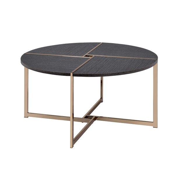 Mateus Cross Legs Coffee Table by Mercer41 Mercer41