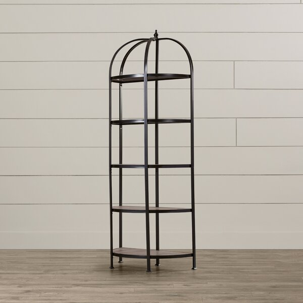 Perri Etagere Bookcase by August Grove