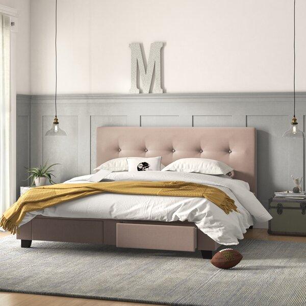 Allie Upholstered Storage Standard Bed by Grovelane Teen