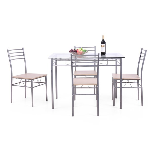 Corrinne 5 Piece Dining Set By Red Barrel Studio